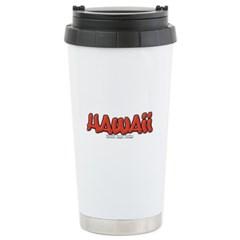 Hawaii Graffiti Travel Mug