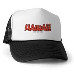 Hawaii Graffiti Trucker Hat