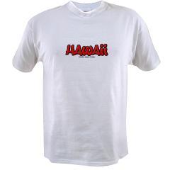 Hawaii Graffiti Value T-shirt