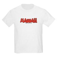 Hawaii Graffiti Youth T-Shirt by Hanes