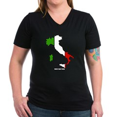 Delle Donne Italia T-shirt Scura MRRiP3