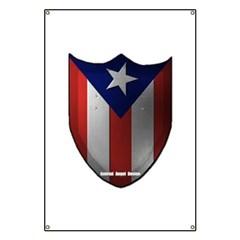 Puerto Rican Shield Banner