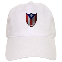 Puerto Rican Shield Baseball Cap