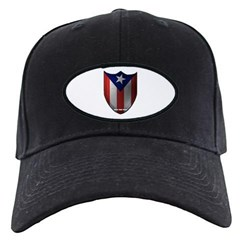 Puerto Rican Shield Baseball Hat