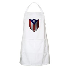 Puerto Rican Shield BBQ Apron