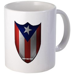 Puerto Rican Shield Coffee Mug