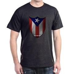 Puerto Rican Shield Dark T-shirt