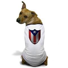 Puerto Rican Shield Dog T-Shirt