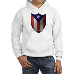 Puerto Rican Shield Hooded Sweatshirt