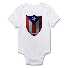 Puerto Rican Shield Infant Bodysuit