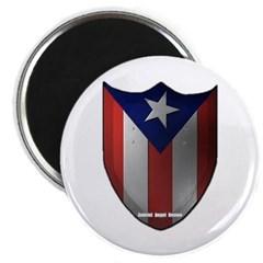 Puerto Rican Shield Magnet