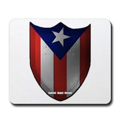 Puerto Rican Shield Mousepad
