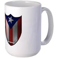 Puerto Rican Shield Mug