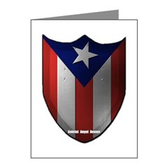 Puerto Rican Shield Note Cards (Pk of 10)