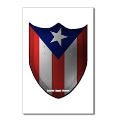 Puerto Rican Shield Postcards (Package of 8)