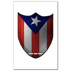 Puerto Rican Shield Small Posters