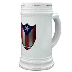 Puerto Rican Shield Stein