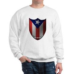 Puerto Rican Shield Sweatshirt