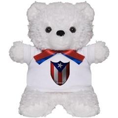 Puerto Rican Shield Teddy Bear