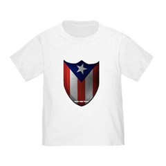 Puerto Rican Shield Toddler T-Shirt