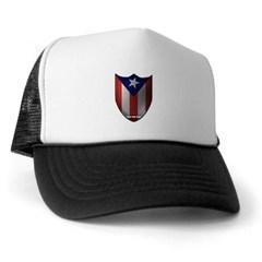 Puerto Rican Shield Trucker Hat