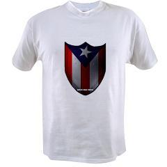 Puerto Rican Shield Value T-shirt