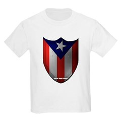 Puerto Rican Shield Youth T-Shirt by Hanes