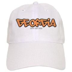 Georgia Graffiti Baseball Cap