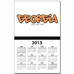 Georgia Graffiti Calendar Print