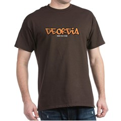 Georgia Graffiti Dark T-shirt
