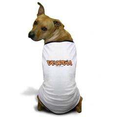 Georgia Graffiti Dog T-Shirt