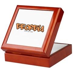 Georgia Graffiti Keepsake Box