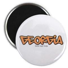 Georgia Graffiti Magnet