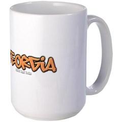 Georgia Graffiti Mug