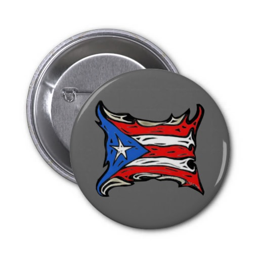 Puerto Rico Flag of Reggaeton 2 Inch Round Button