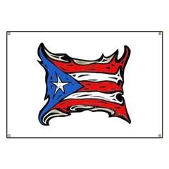 Puerto Rico Heat Flag Banner