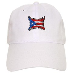 Puerto Rico Heat Flag Baseball Cap