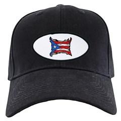 Puerto Rico Heat Flag Baseball Hat