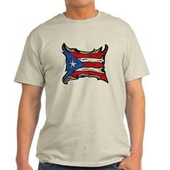Puerto Rico Heat Flag Classic T-Shirt
