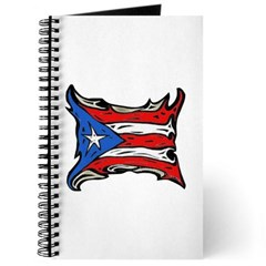 Puerto Rico Heat Flag Journal