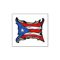 Puerto Rico Heat Flag Large Posters