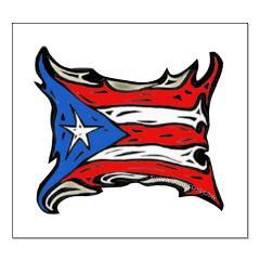 Puerto Rico Heat Flag Posters