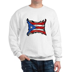 Puerto Rico Heat Flag Sweatshirt