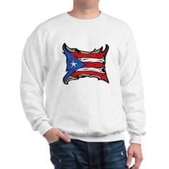 Puerto Rico Heat Flag Sweatshirt