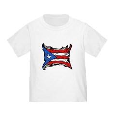 Puerto Rico Heat Flag Toddler T-Shirt