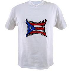 Puerto Rico Heat Flag Value T-shirt