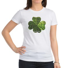 Concentric 4 Leaf Clover Junior Jersey T-Shirt