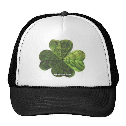 Concentric 4 Leaf Clover Trucker Hat