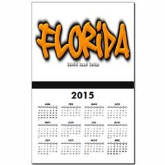 Florida Graffiti Calendar Print