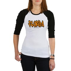 Florida Graffiti Junior Raglan T-shirt